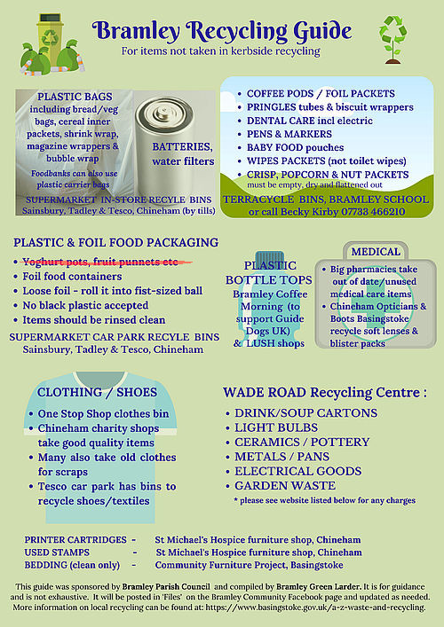 Bramley Recycling Guide